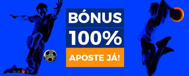 Bônus 100% aposte já