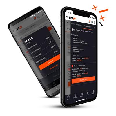 Bet.pt mobile